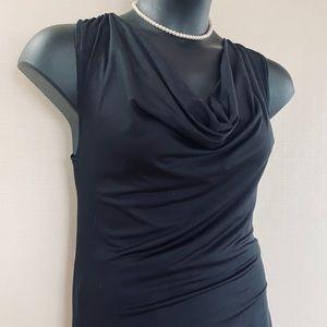 Tops - Black Sleeveless Blouse.
